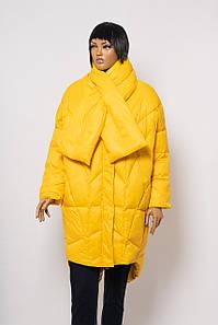 Куртка женская ANOTHER MONTE CERVINO MY552 YELLOW PYH+SHARF