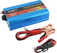 Преобразователь напряжения инвертор Powerone Plus 400W с чистой синусоидой AC/DC 12V Blue (4_520833051)