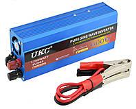Преобразователь напряжения инвертор Powerone Plus 600W с чистой синусоидой AC/DC 12V Blue (4_520835109)