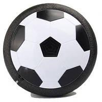 Футбольний м'яч для дому з підсвічуванням RIAS Hoverball Black (4_779709516)