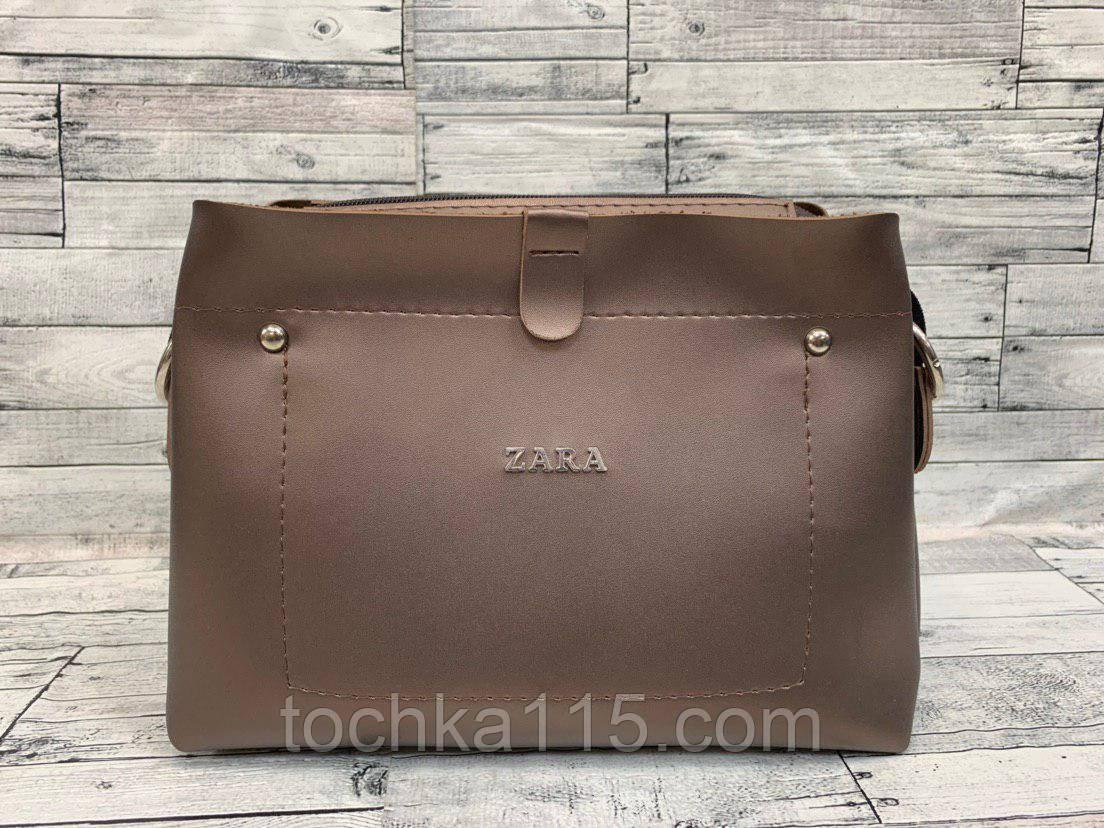 Женский клатч сумка Zara