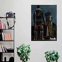 "Постер ""Half-Life. Ravenholm. Гордон Фриман"". Размер 60x43см (A2). Глянцевая бумага, фото 3"