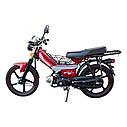 Мотоцикл SPARK SP110C-1WQ (синий,черный,красный) + Доставка бесплатно, фото 3