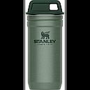Подарочный набор Stanley Adventure Combo (фляга (0,59л) + 4 рюмки), зеленый, фото 2