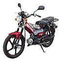 Мотоцикл SPARK SP110C-1WQ (синий,черный,красный) + Доставка бесплатно, фото 6