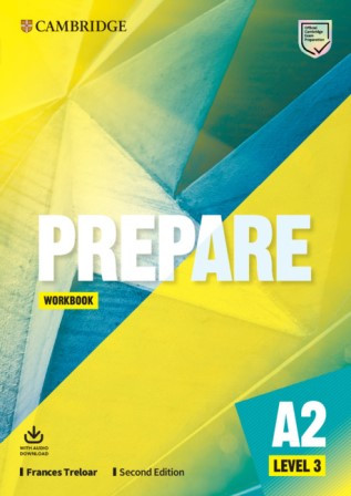 Cambridge English Prepare! Second Edition 3 Workbook with Audio Download