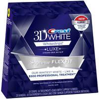 Crest 3D White Luxe Whitestrips Supreme FlexFit відбілюючі смужки для зубів з США