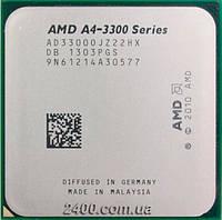 Процессор AMD A4-3300 APU 2.5GHz (AD3300OJZ22HX / AD3300OJZ22GX) Socket FM1 65W