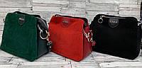 Женскаясумка клатч экокожа и натуральная замша Zara, жіноча сумка зара, фото 1