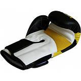 Детские боксерские перчатки RDX Yellow , фото 3