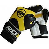 Детские боксерские перчатки RDX Yellow , фото 4