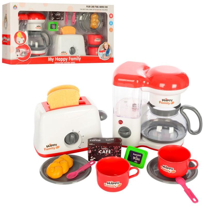Детский набор Бытовая техника (тостер, кофеварка)