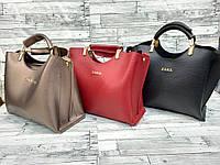 Женская кожаная сумка ZARA, жіноча сумка, фото 1