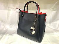 Женская кожанаясумка, жіноча сумка, фото 1
