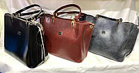 Женскаякожаная сумка, жіноча сумка, фото 1