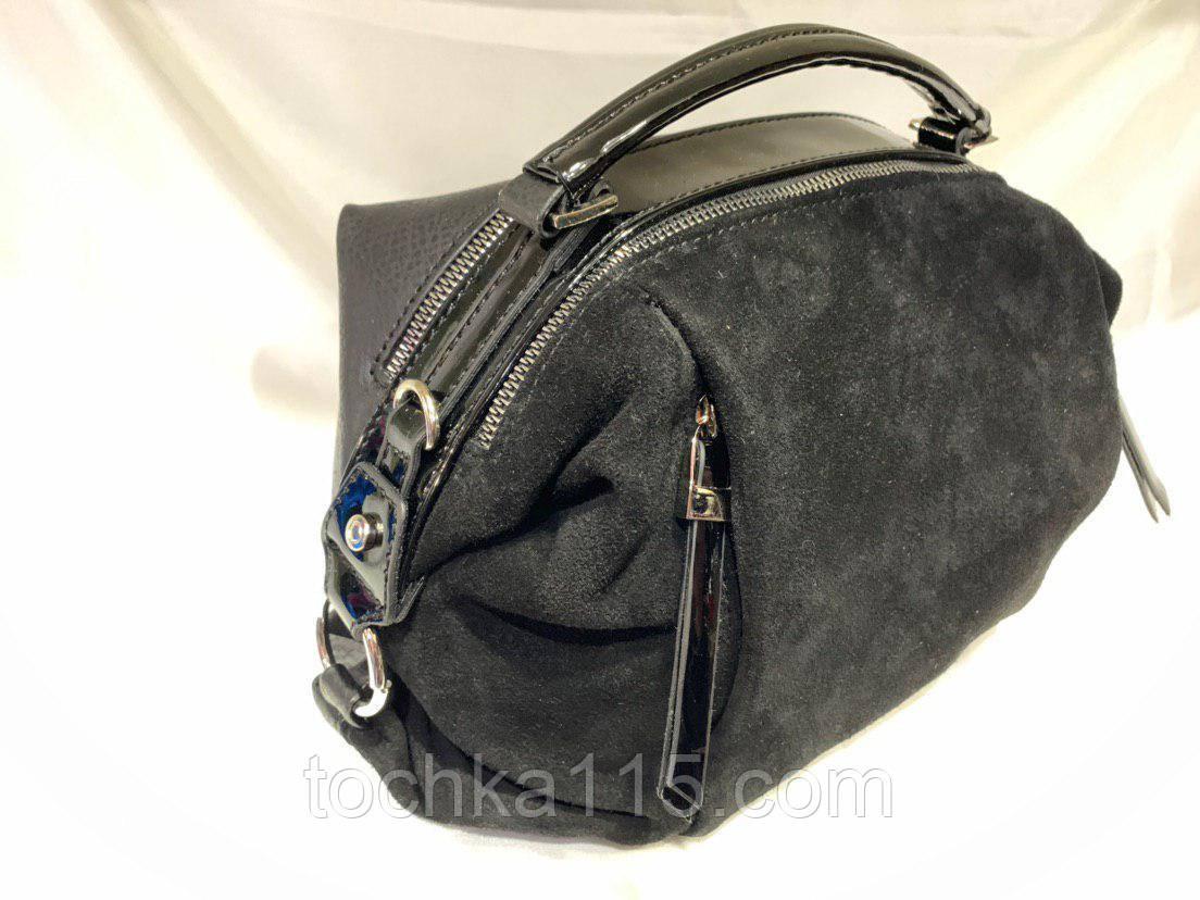 Женскаякожаная замшевая сумка, жіноча сумка