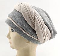 Оптом шапка взрослая с 57 по 60 размер ангора с синтепоном головные уборы, фото 1