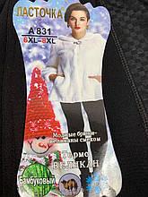 Женские брюки лосины с мехом 50-56 Бамбук Люкс качество ЛАСТОЧКА