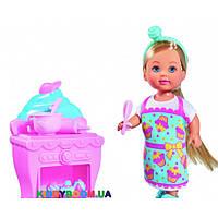 Кукольный набор Эви Кондитерская с аксессуарами Steffi & Evi 5733240