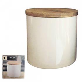 Банка для сыпучих продуктов S&T Белая 0.5 литра 2244-08