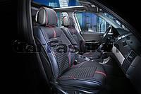 Накидки на сидения CarFashion FULL 3D  Мoдель: SECTOR  красный, черный, черный     (21907), фото 1
