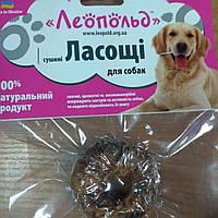 Ласощі для собак кільце з курячого філе, фото 1