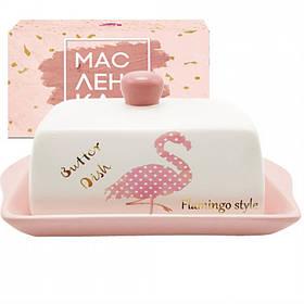 Масленка S&T Фламинго 20 х 13 см 700-02-13