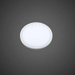 Врезной светодиодный светильник модель 928 LED 8W (круг)