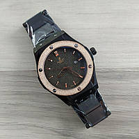 Часы наручные Classic Fusion Black-Gold-Black Metall Big