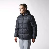 Мужская куртка пуховик зимняя Adidas DOWN JKT GOOD D88401