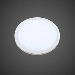 Врезной светодиодный светильник модель 928 LED 15W (круг)