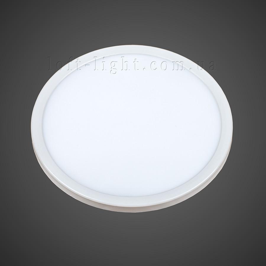 Врезной светодиодный светильник  928 LED 20W (круг)