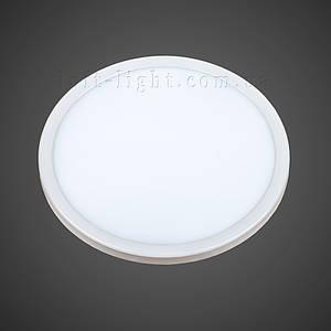 Врезной светодиодный светильник модель 928 LED 20W (круг)