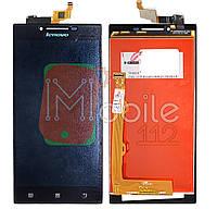 Модуль для Lenovo P70, P70-A, P70-T (Дисплей + тачскрин), чёрный, оригинал PRC