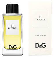 Мужская туалетная вода Dolce & Gabbana 11 La Force