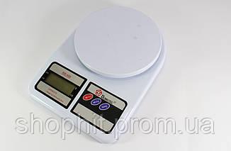 Кухонные Весы ACS MS 400 , Весы на кухню до 7 кг, Электронные весы, Компактные весы кухонные