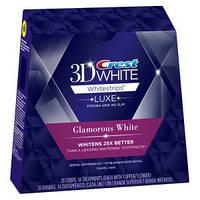 Crest 3D White Luxe Whitestrips Glamorous White відбілюючі смужки для зубів з США