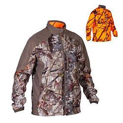 Куртка охотничья мужская Solognac 900 Camo fluo