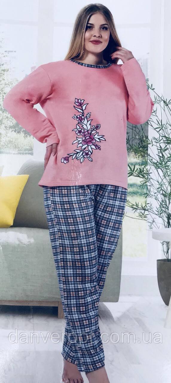Пижама женская стильная удобная размеры L-4XL батал, купить оптом со склада 7км Одесса
