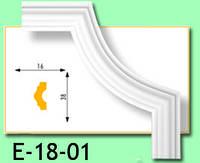 Кутовий елемент Е18-01 16х38мм 40см.