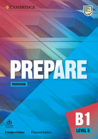 Cambridge English Prepare! Second Edition 5 Workbook with Audio Download