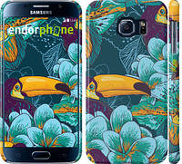 "Чехол на Samsung Galaxy S6 G920 Тропики ""2852c-80"""