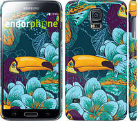 "Чехол на Samsung Galaxy S5 Duos SM G900FD Тропики ""2852c-62"""
