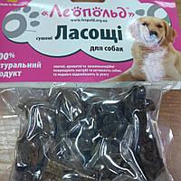"""Ласощі для собак """"сушене серце"""" 60 грамм"""