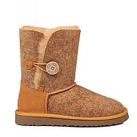 Женские угги UGG Bailey Button Ripple Chestnut (оригинал) 36, фото 1