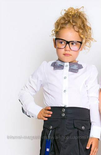 Блуза детская бант