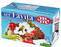 Сыр Фета Favita Mlekovita 18% жирности, 270 г. (Польша)