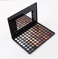 Профессиональная палитра теней 88 цветов пастельных нейтральных  цветов