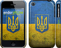 "Чехол на iPhone 3Gs Флаг и герб Украины 2 ""378c-34"""