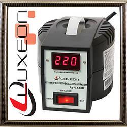 Однофазный стабилизатор напряжения LUXEON 05 AVR-500 D (черный)